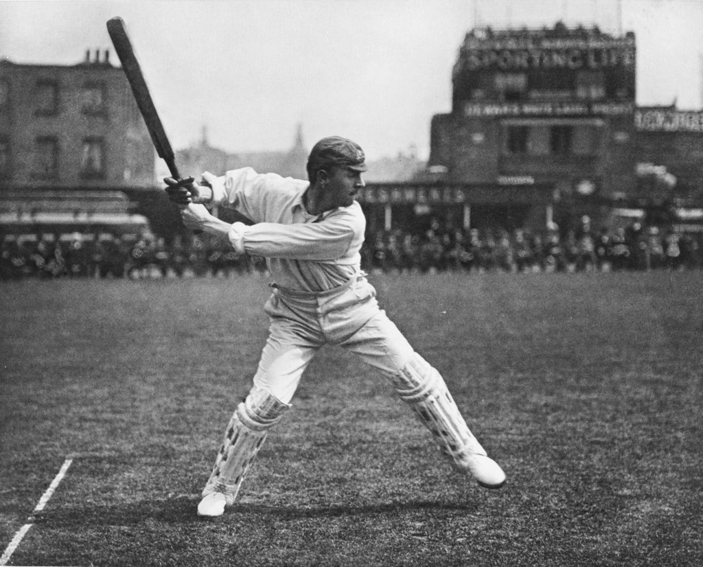 Victor Trumper batting